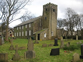 Listed buildings in Rawtenstall - Image: Edenfield Parish Church geograph.org.uk 322115