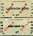 Edmondson London Transport Underground tickets, 1969 - Flickr - sludgegulper.jpg