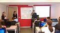 Education program of Wikimedia Serbia at IT High school 03.jpg
