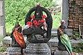 Eeswarakandanalloor Thirumoolanaadhaswamy temple murugan statue.jpg