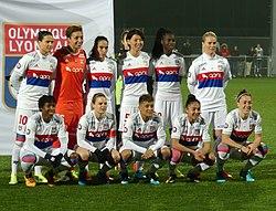 Effectif Olympique lyonnais F 2018.jpg