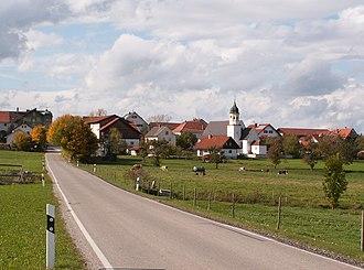 Eggenthal - Image: Eggenthal Bayersried v O, Herbst