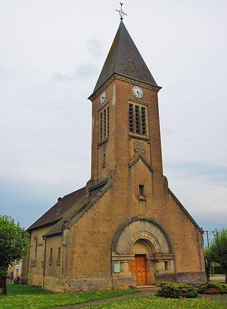 Apremont-la-Forêt - The church in Apremont-la-Forêt