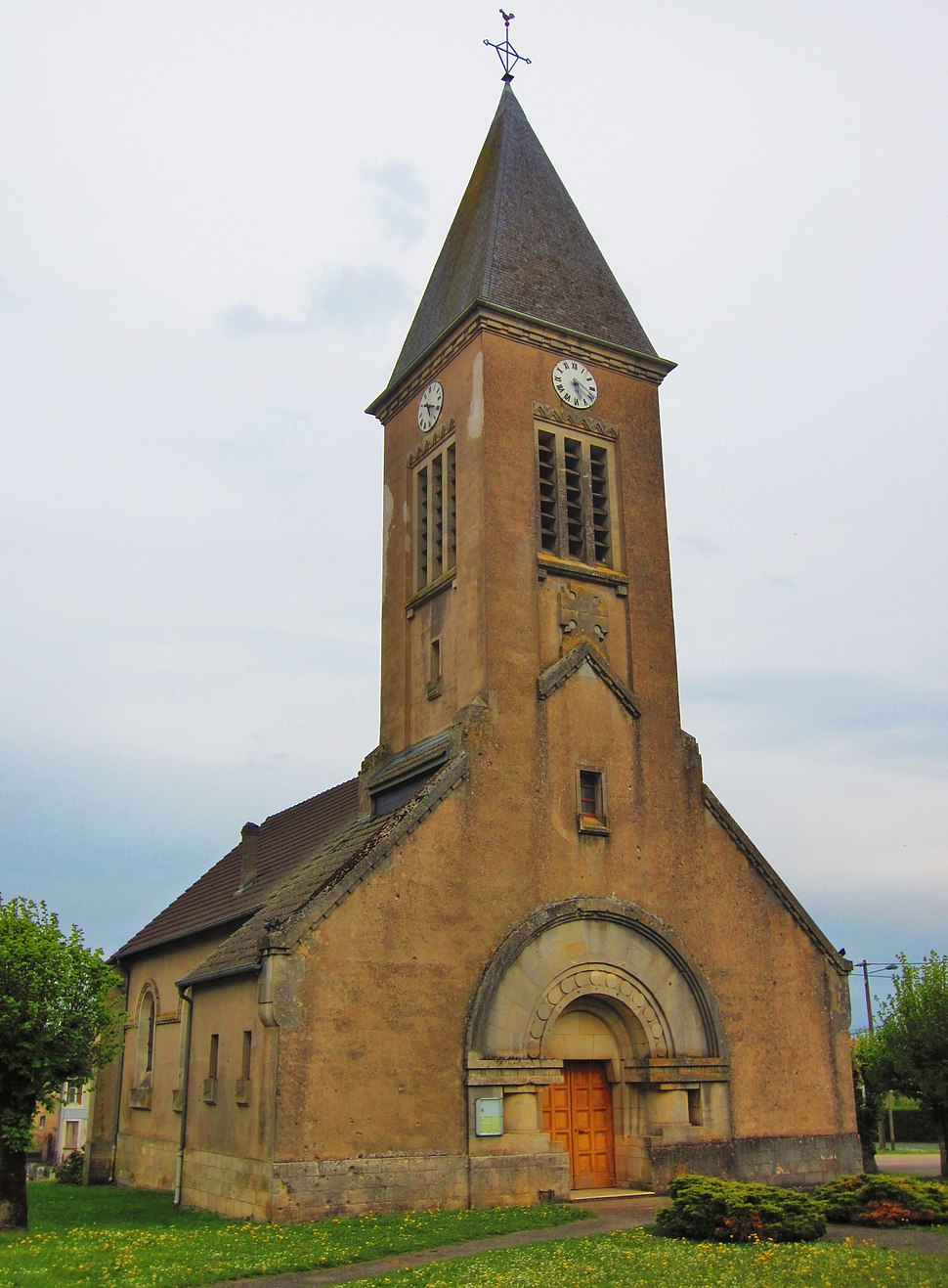 The church in Apremont-la-Forêt