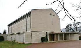 Glise sainte th r se de guilherand granges wikimonde - Eglise sainte therese guilherand granges ...