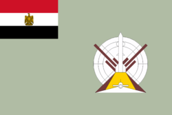 Flag of the Egyptian Air Defense Command
