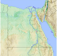 Location of Saqqara