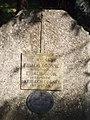 Eibach family grave, Calvary Hill cemetery, 2016 Bonyhad.jpg