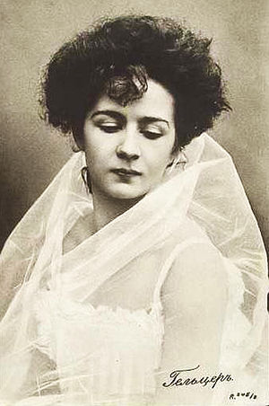 Yekaterina Geltzer - Image: Ekaterina Geltzer 1910
