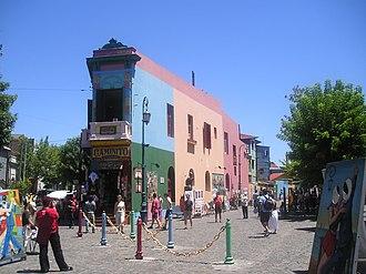 La Boca - Image: El Caminito de La Boca Buenos Aires
