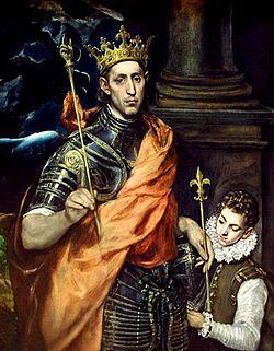 Ludvig IX, maleri af El Greco (1590-talet)