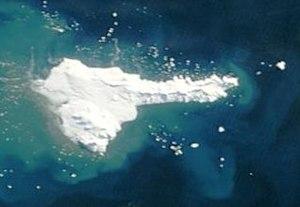 Satellitenbild von Elephant Island