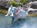 Elephants in Anotata pond around the royal crematorium of Bhumibol Adulyadej (02).jpg