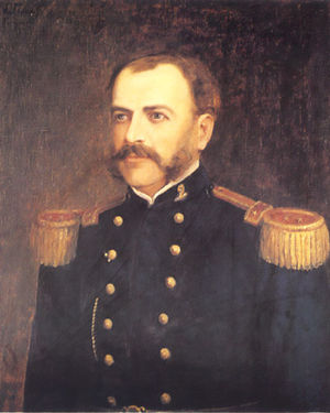 Battle of Tarapacá - Eleuterio Ramírez, commander of the Chilean 2nd Line Regiment