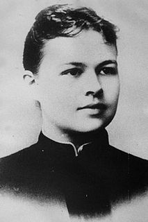 Elizabeth Hesselblad Swedish nurse and religious foundress