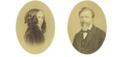 Elizabeth Barrett Browning et Robert Browning.png