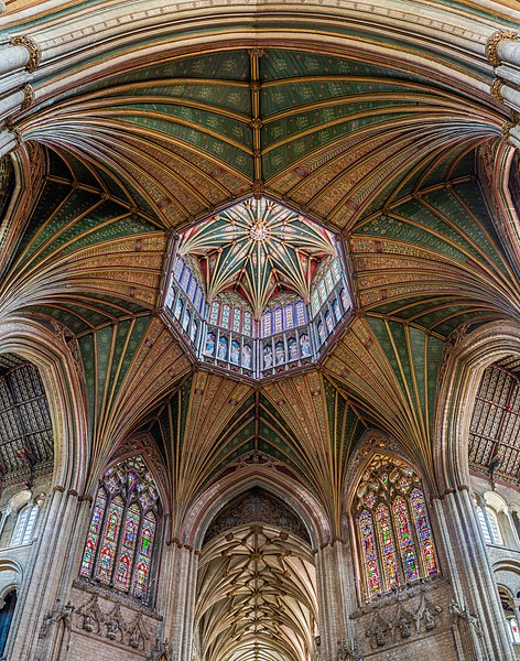 File:Ely Cathedral Octagon Lantern 1, Cambridgeshire, UK - Diliff.jpg