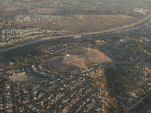 Emerald Hills, San Diego - 2014 aerial photo of Emerald Hills