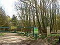 Emergency access point to forest - geograph.org.uk - 1241947.jpg