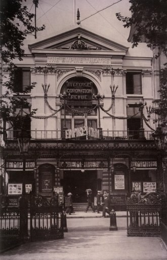 Marie Lloyd - Empire, Leicester Square, in 1911