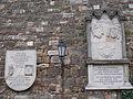 En Memoria dels Catalans & In Memoriam los heroes 300 espanoles. Memorial plaques - Lovas út, Budapest.JPG