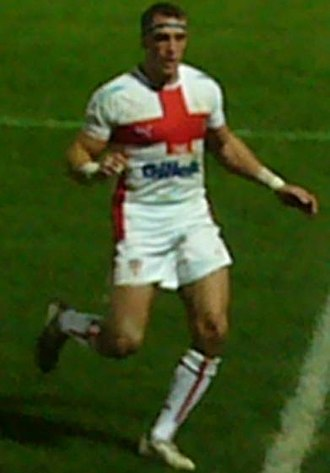 Rob Purdham - Purdham in action for England in 2008
