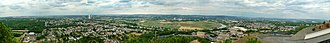 Ensdorf, Saarland - Image: Ensdorf Bergenhalde Panorama