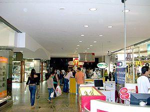 Entrada do Shopping Flamboyant