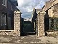 Entrance gates of Trinity Almshouses, Abergavenny, November 2018 (2).jpg