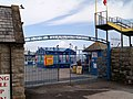 Entrance gates to Llandudno pier - geograph.org.uk - 581741.jpg