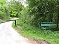 Entrance to Wench Ford picnic spot and forest trail - geograph.org.uk - 810252.jpg