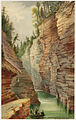 Entrance to the Flume, Ausable Chasm (Boston Public Library).jpg