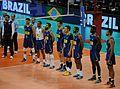 Equipe du Brésil de Volley-Ball en juillet 2016.jpg