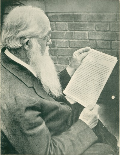 Author Ernest Vincent Wright, seen here reading the manuscript of his novel