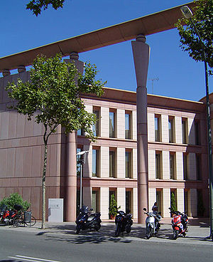 ESADE Business School - Building 3 at Esplugues avenue