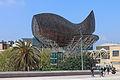 Escultura de Frank O. Gehry con forma de peixe. Porto olímpico de Barcelona B18.jpg