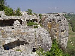 Отзыв о Средневековый пещерный город Эски-Кермен (Украина, Крым)