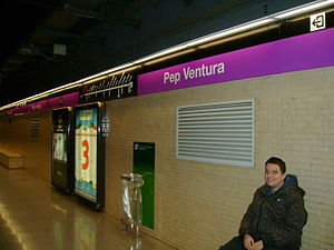 Pep Ventura (Barcelona Metro) - Pep Ventura station.