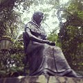 Estatua de Amelia Denis De Icaza ubicada en el mirador de la cima del Cerro Ancón en Ciudad de Panama- 2013-11-18 15-36.jpg