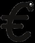 Euro in Comic Sans