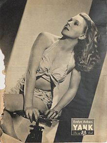 Evelyn Ankers pin-up from Yank, The Army Weekly, July 1945.jpg