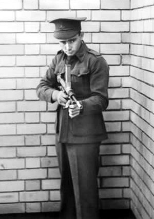 Owen Gun - Private Evelyn Owen Circa 1941