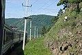 Excursion train of Circum-Baikal railway- ED9MK-0029 EMU under TEM2-6550 (31431220844).jpg