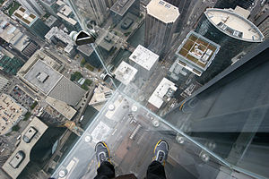 Deutsch: Glasbalkon Skydeck Sears-Tower, Chicago