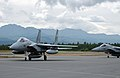 F-15J (933 & 925) from 204 Sqn and 305 Sqn taxi in at Elmendorf Air Force Base, -21 Jul. 2004 a.jpg