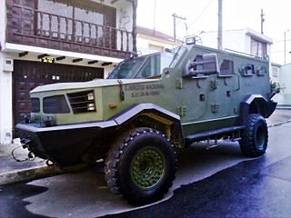 Hunter TR-12 Armoured Personnel Carrier