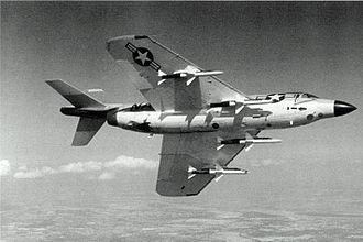 McDonnell F3H Demon - An F3H-2 with Sparrow missiles