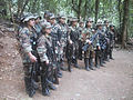FARC guerrillas during the Caguan peace talks (1998-2002).jpg