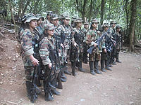 FARC guerrillas during the Caguan peace talks (1998-2002).jpg