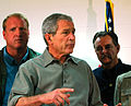 FEMA - 35778 - President Bush and FEMA Administrator Paulison in Iowa.jpg